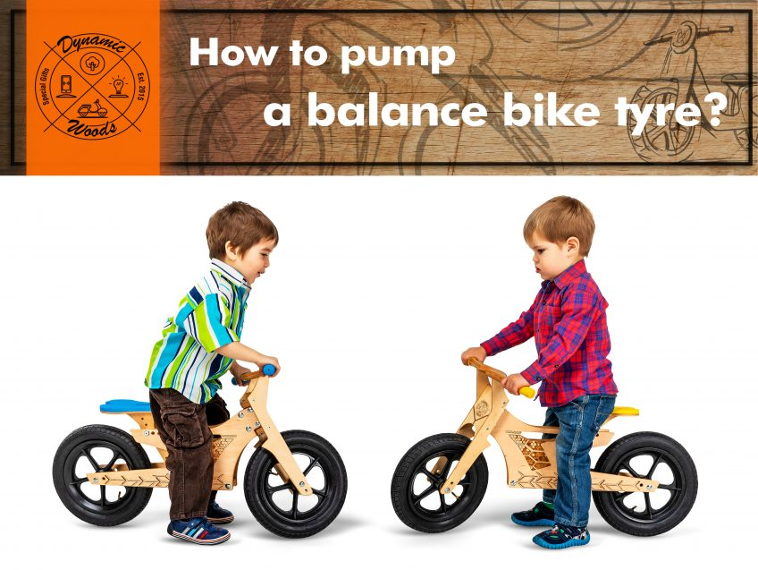 How to pump a bike tyre?