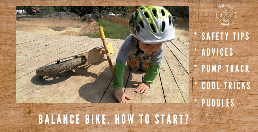 Balance bike safety tips and how to's…?